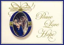 Angelic Adoration Religious Christmas Cards